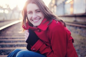 Im letzten Jahr noch Gast, in diesem Jahr Moderatorin: Bella Lesnik