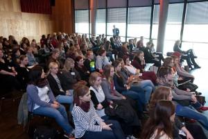 Blick ins Publikum der Medienfrauen im vergangenen Jahr.