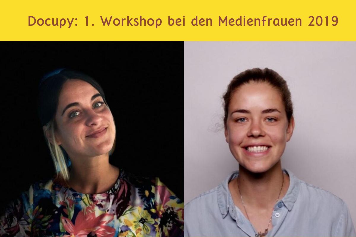 docupy 1. Workshop Medienfrauen